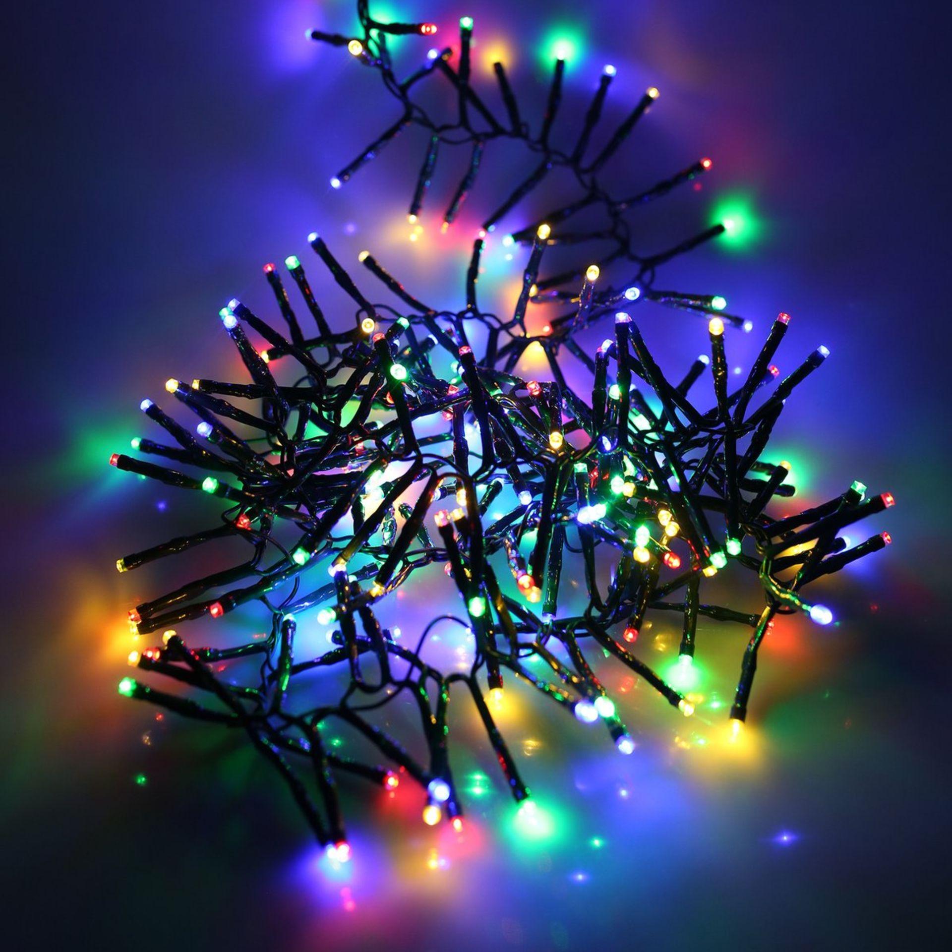 Lot 52567 - V Brand New 1440 Multi Coloured Multi Function LED Cluster Lights