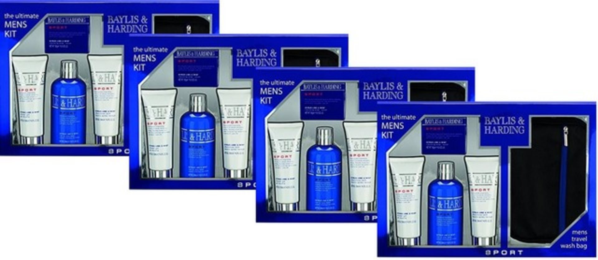 Lot 51515 - V Brand New Four Gift Sets - Baylis and Harding The Ultimate Men's Kit Including 1 x 300ml Hair