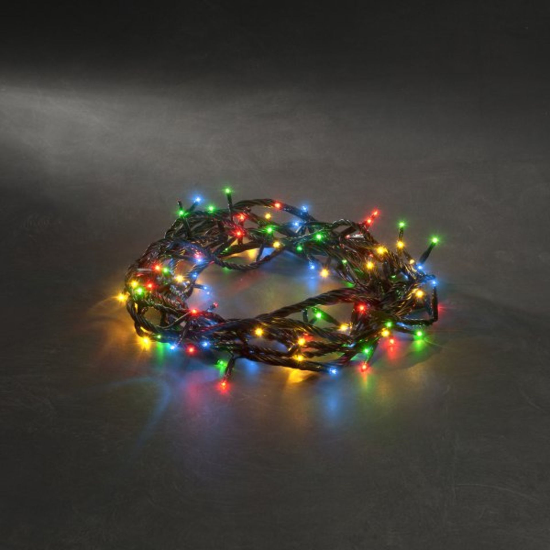 Lot 52600 - V Brand New 100 Multi Coloured Battery Operated LED Lights