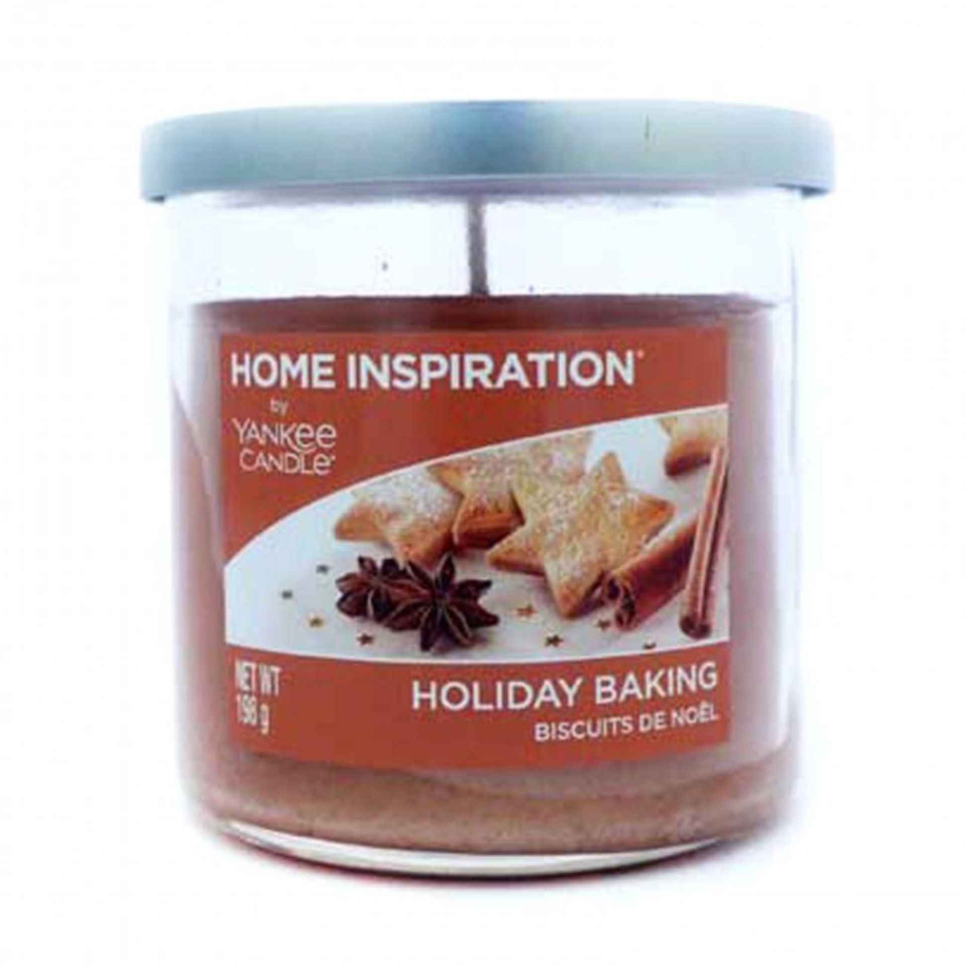 Lot 50138 - V Brand New Home Inspiration by Yankee Candle Holiday Baking 198g Tumbler Candle - ISP £7.99 Ebay
