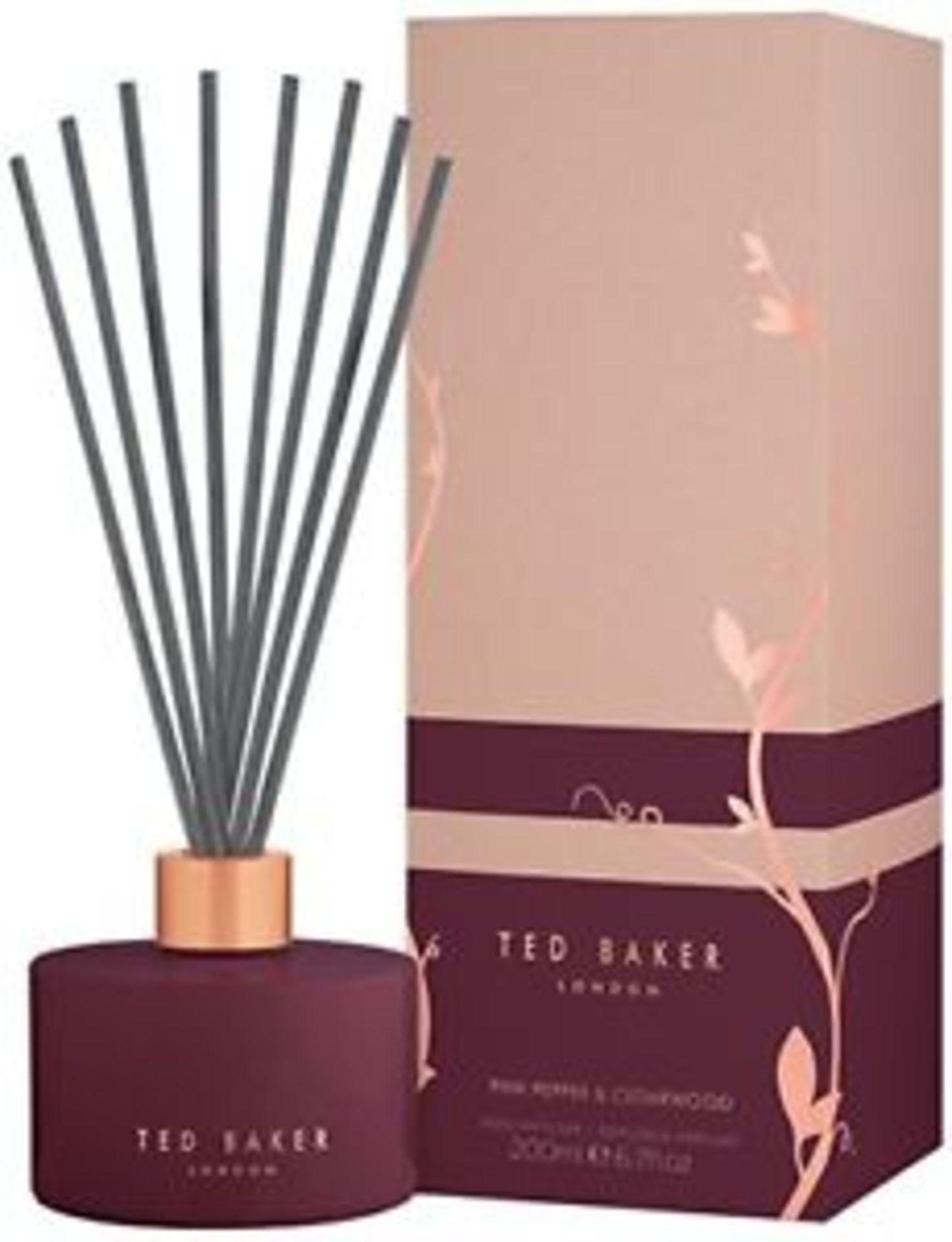Lot 50100 - V Brand New Ted Baker Pink Pepper & Cedarwood Reed Diffuser - ISP £34.00 (John Lewis)