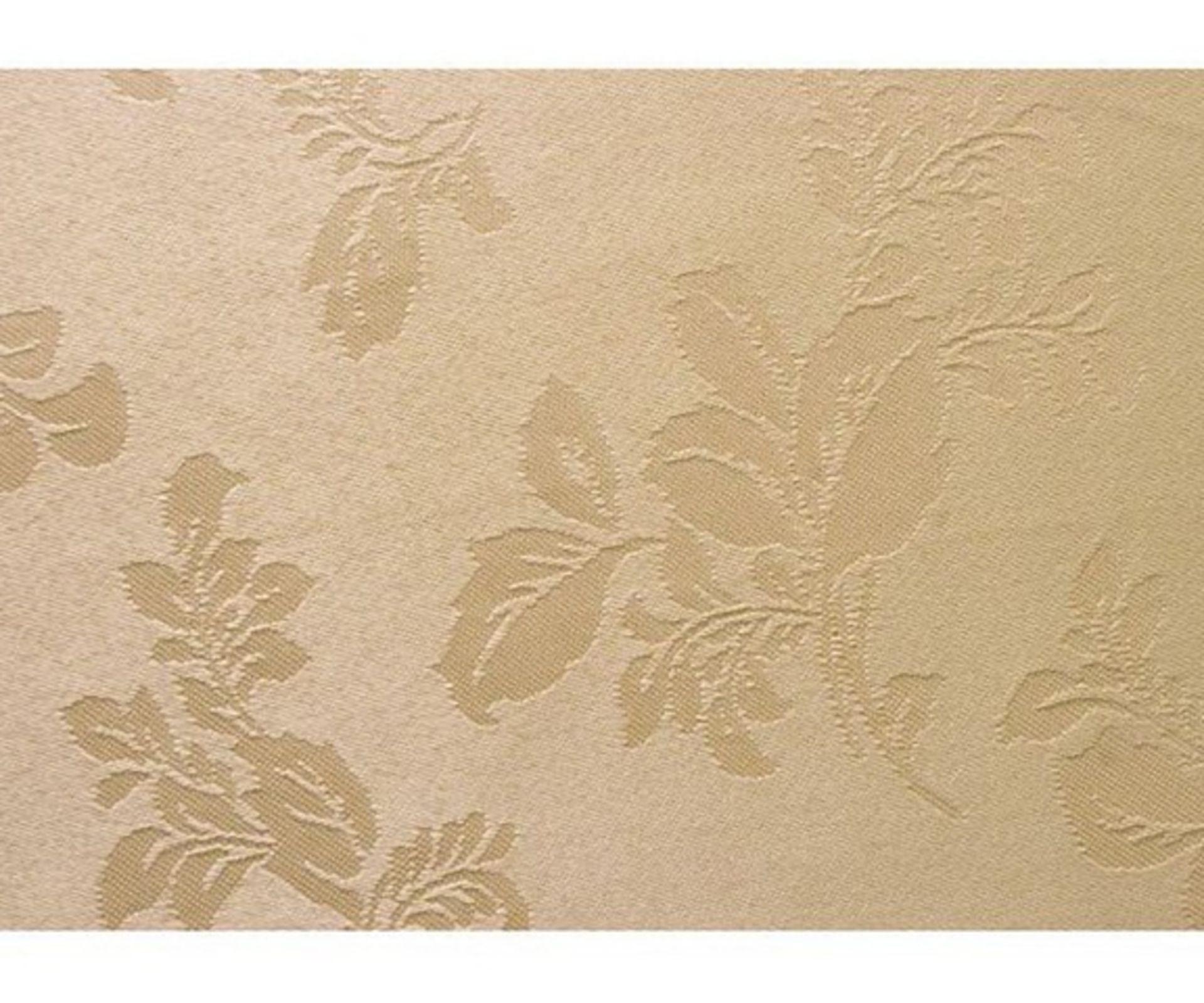 Lot 50115 - V Brand New Luxury Stain Resistant Linen Table Cloth 160 x 210cm Gold - ISP £34.99 (islshop-UK)