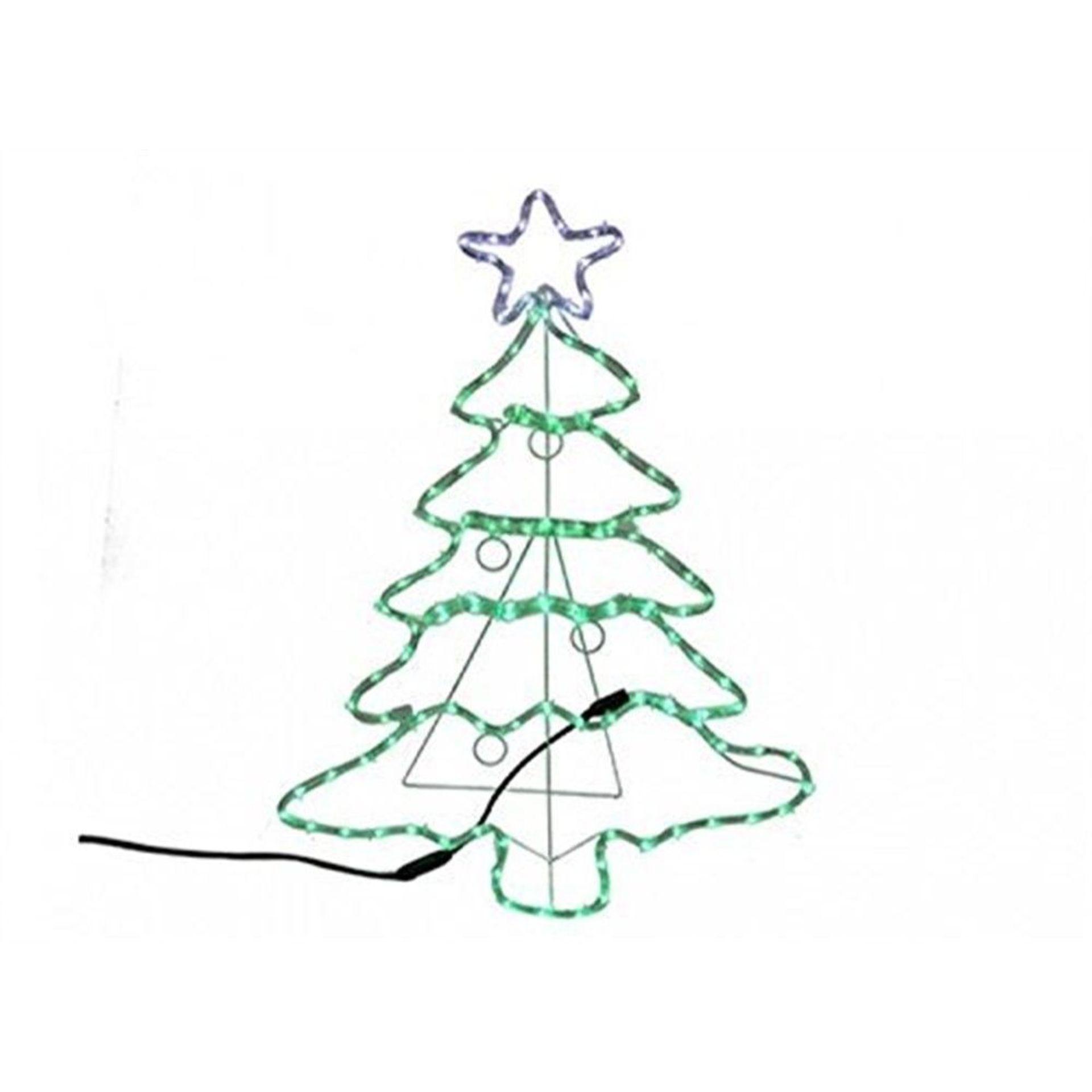 Lot 18007 - V Brand New 88CM Light Up Christmas Tree