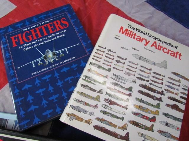 Lot 6 - Aviation Books