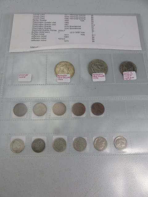 Lot 24 - Large selection of Coinage - to include American, English and other foreign coinage. approx 200+