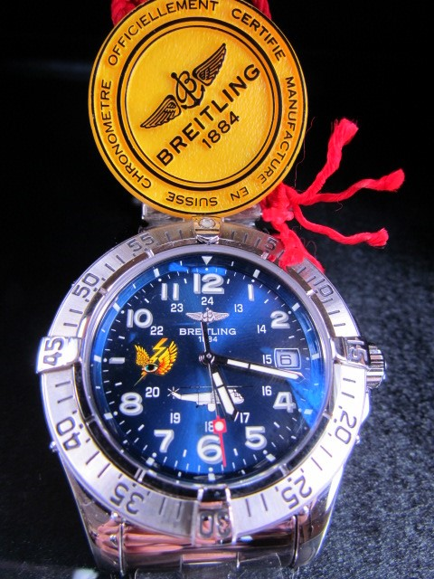 Lot 29 - RARE Breitling Superocean Acier Sea King 2006 Limited Edition Automatic Gents Wristwatch. This is