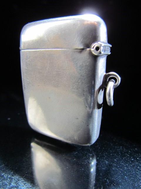 Lot 16 - Silver Hallmarked Vesta case by Wilmot Manufacturing & Co Birmingham