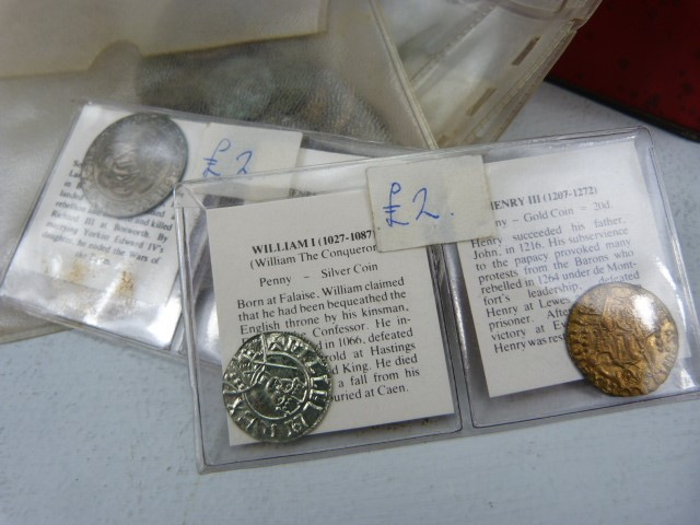 Lot 38 - Collection of coins