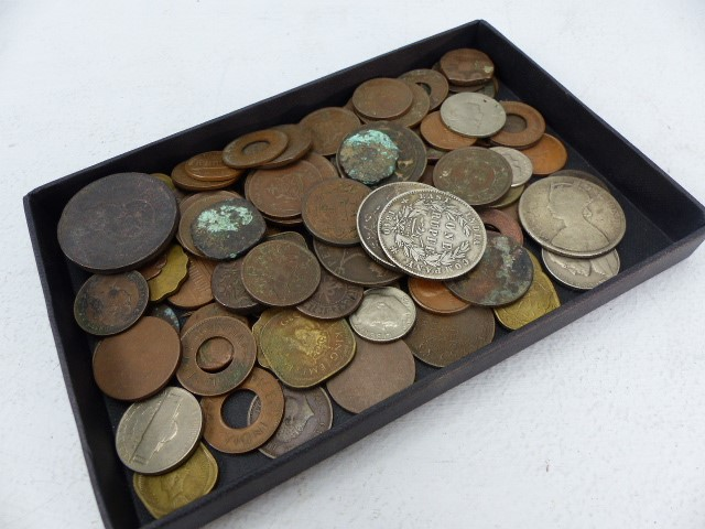 Lot 39 - Collection of coins and tokens