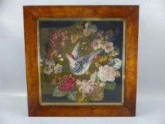 Fine Tapestry in a Walnut frame dated to rear 1947