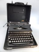 Royal De Luxe Typewriter in carry case