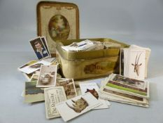Collection of cigarette cards to include John Player animal heads, dogs, game birds etc