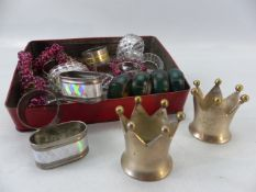 Collection of various napkin rings
