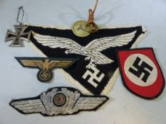 Collection of military badges