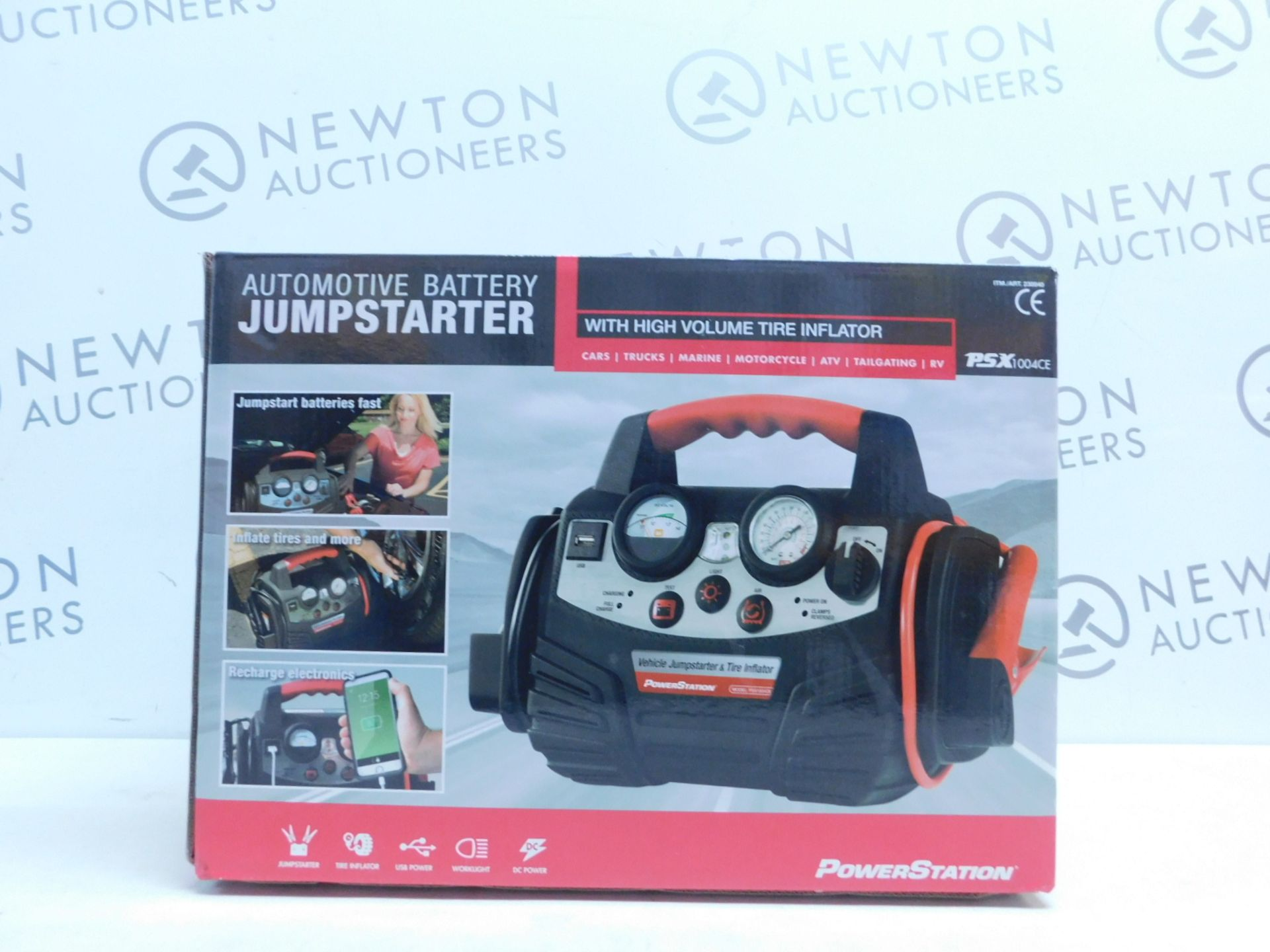 Lot 38 - 1 BOXED POWERSTATION PSX1004CE PROFESSIONAL GRADE JUMP STARTER RRP £159