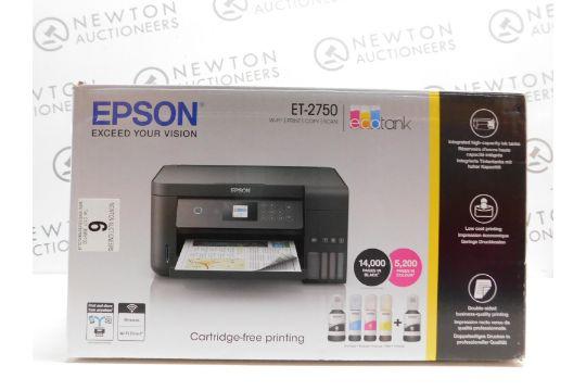 1 BOXED EPSON ECOTANK ET-2750 MULTIFUNCTION PRINTER RRP £229 99