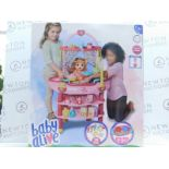 1 BRAND NEW BOXED BABY ALIVE COOK N CARE 3-IN-1 PLAYSET RRP £39.99