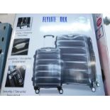 1 BOXED SAMSONITE FLYLITE DLX ITS HARDSIDE PROTECTION 2 PIECE LUGGAGE SET RRP £199.99