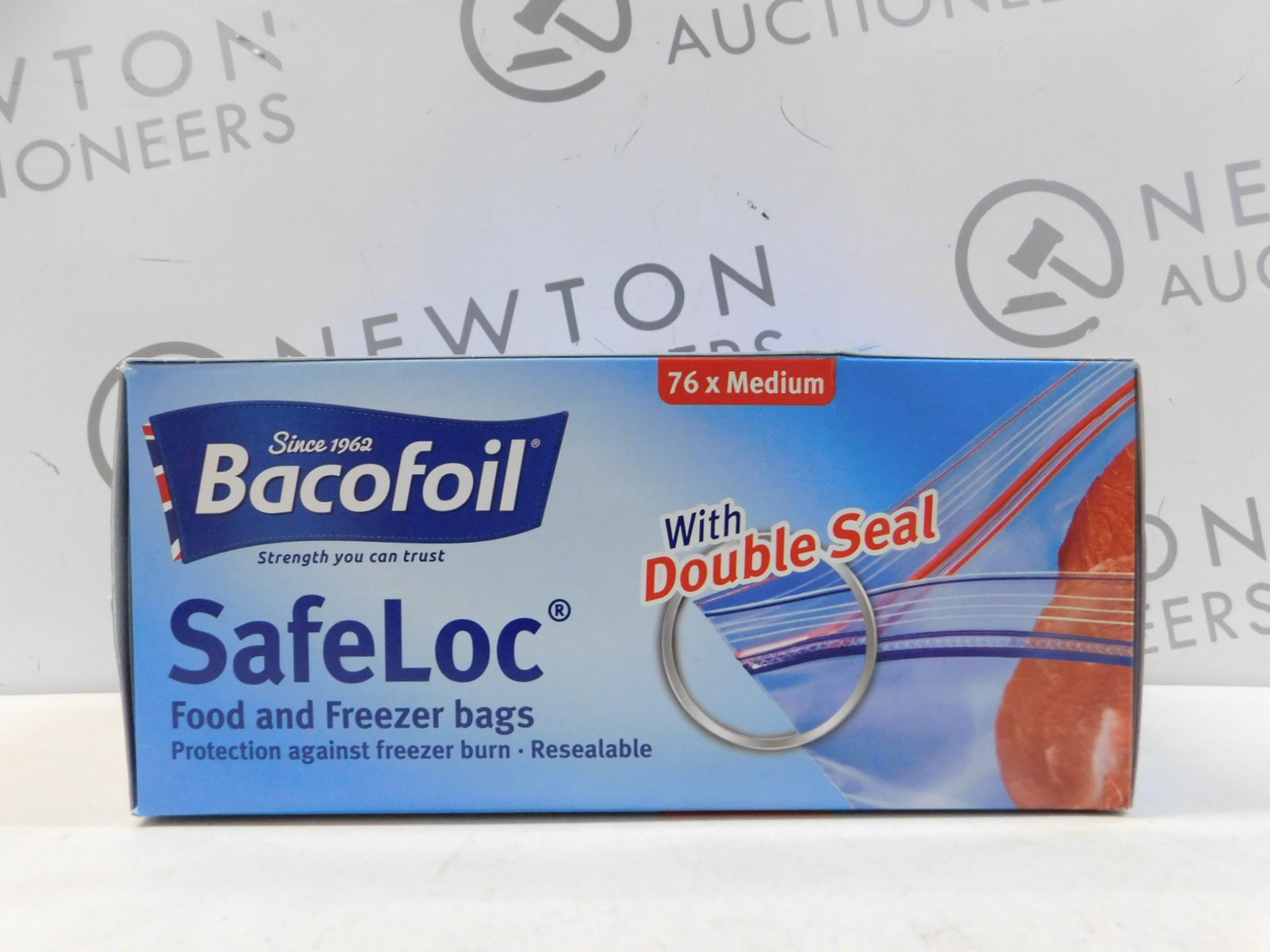 Lot 345 - 1 BOX OF BACOFOIL SAFELOC FOOD AND FREEZER BAGS RRP £24.99