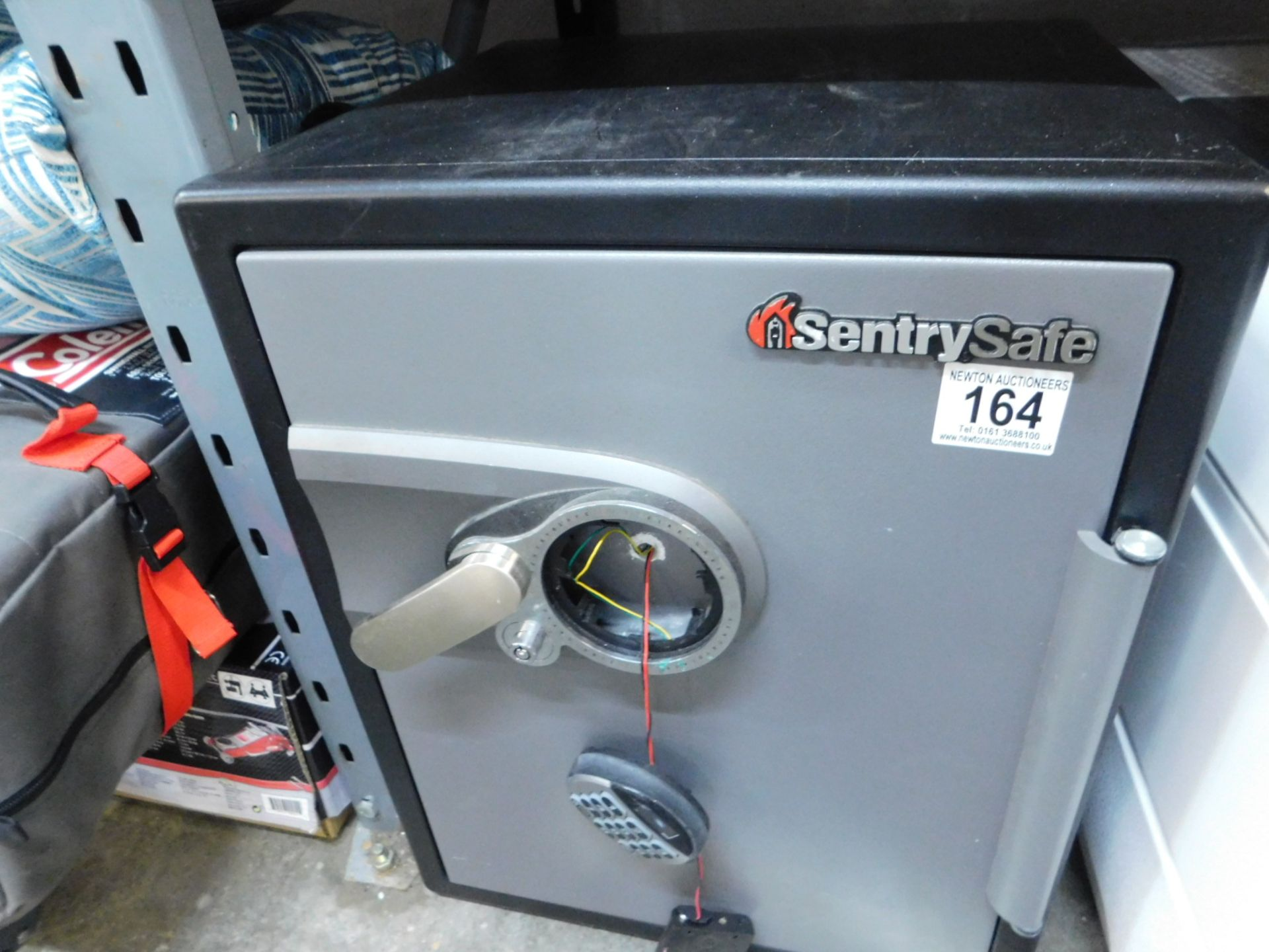 Lot 164 - 1 SENTRYSAFE SFW205GPC DIGITAL FIRE & WATER SAFE WITH 2FT CAPACITY RRP £799