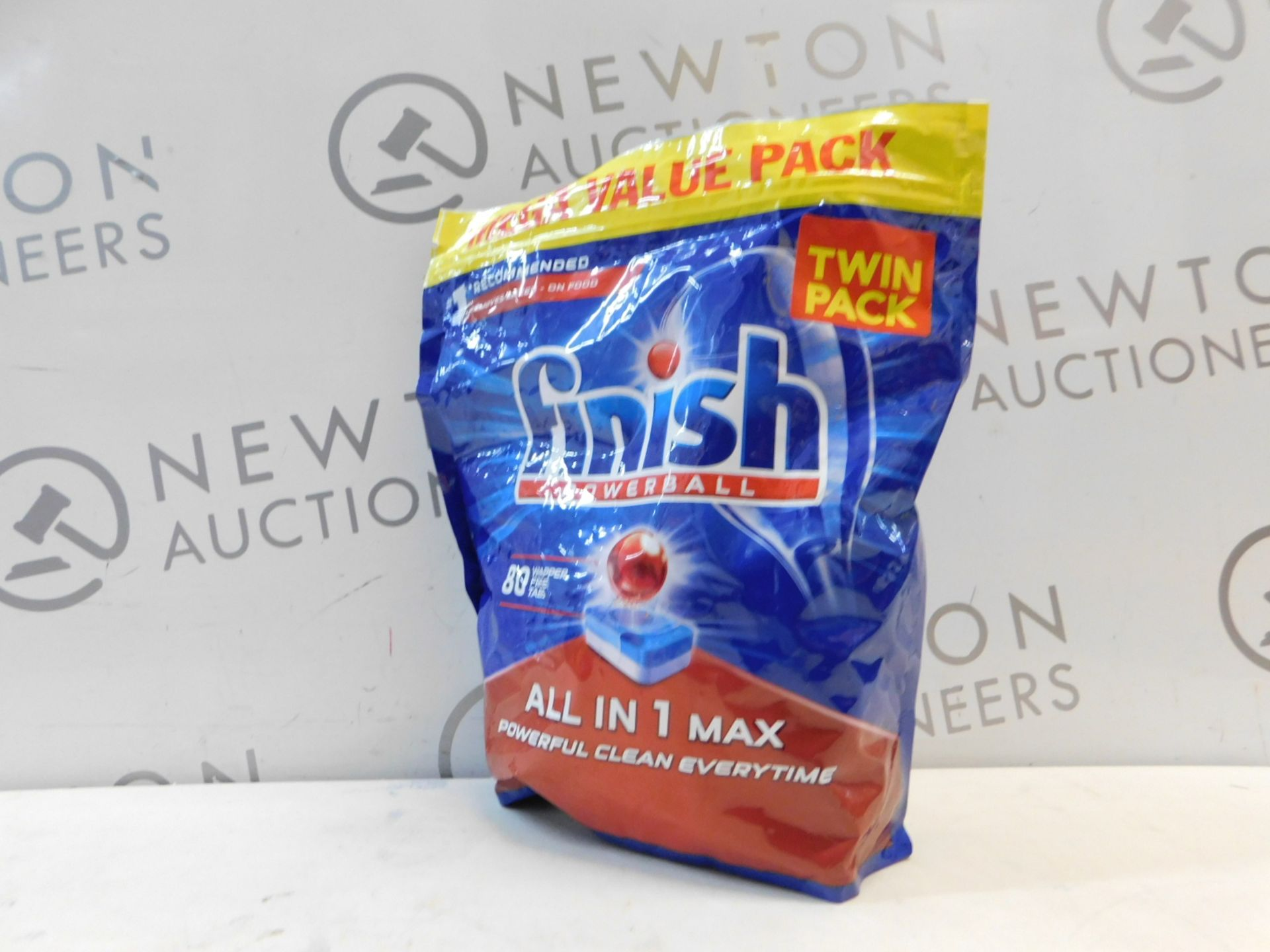 Lotto 77 - 1 PACK OF FINISH 80 ALL IN ONE MAX ORIGINAL DISHWASHER TABLETS RRP £14.99
