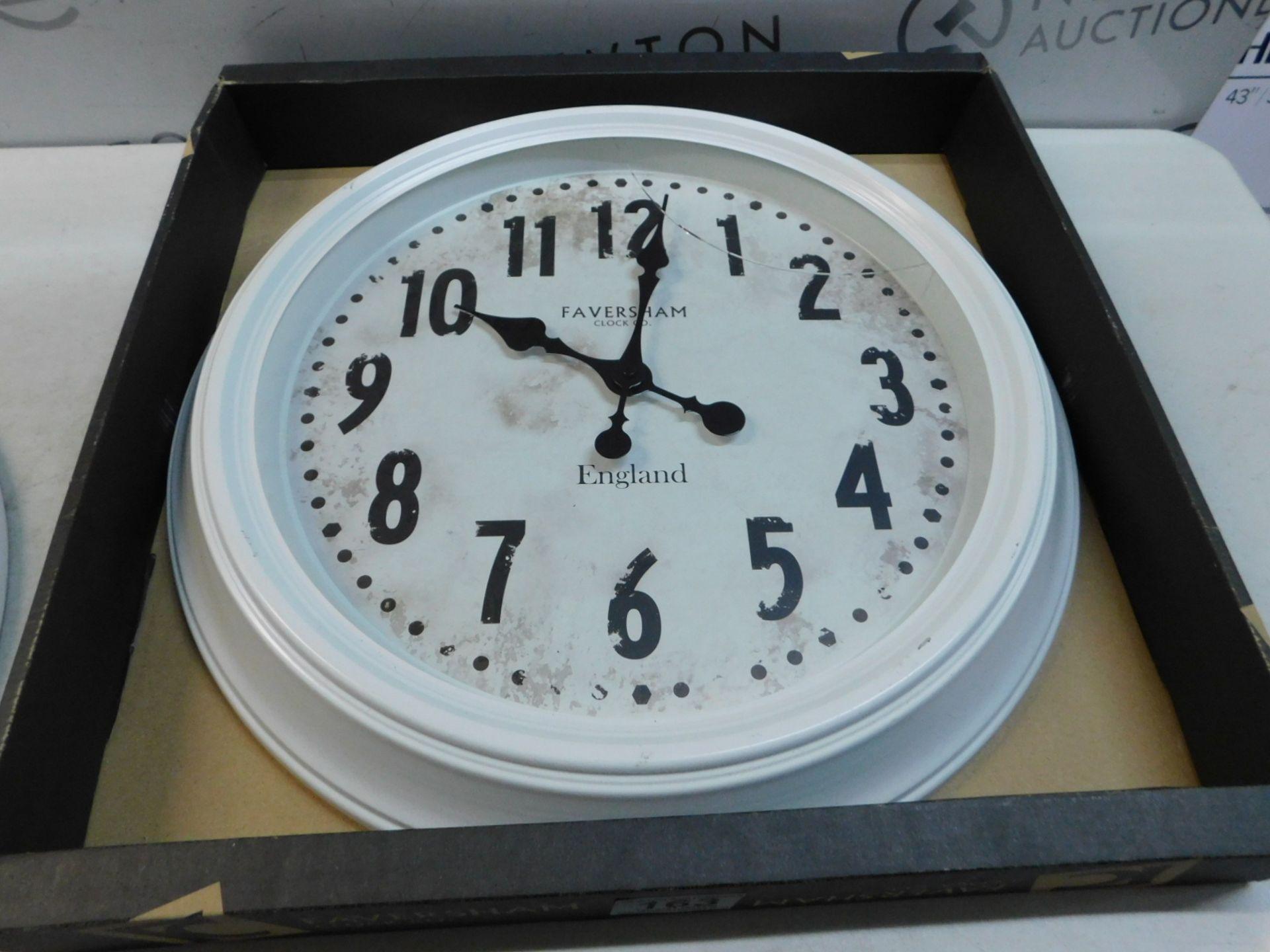 Lot 163 - 1 PACK OF FAVERSHAM CLOCK CO VINTAGE WATCH/ CLOCK RRP £44.99