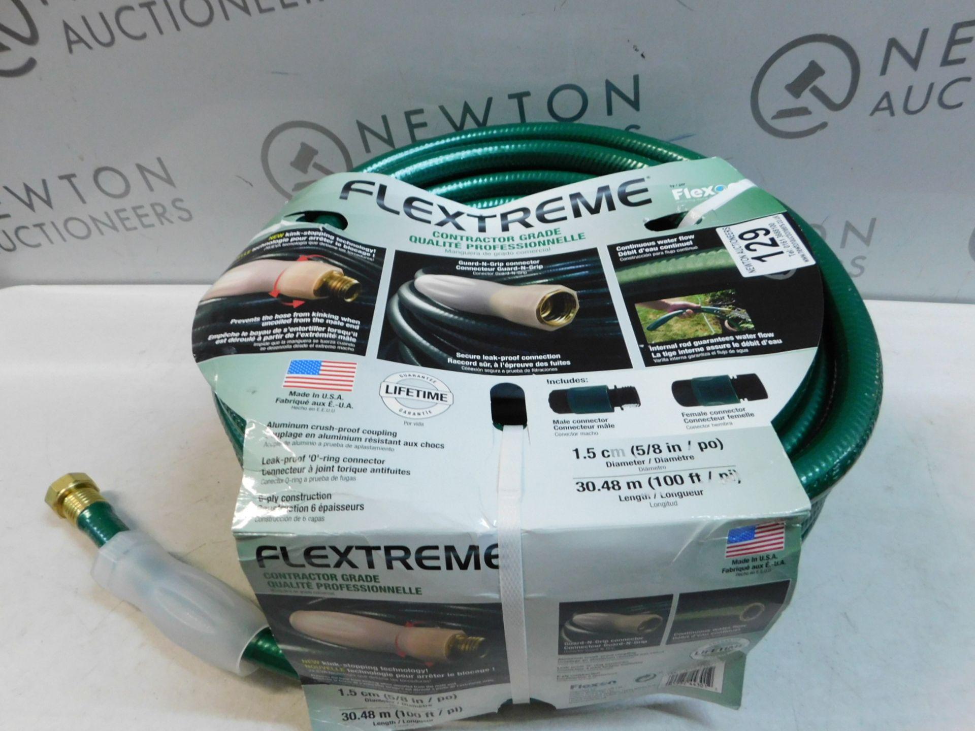 Lot 129 - 1 PACK OF FLEXON 100FT PROFESSIONAL COMMERCIAL GRADE HOSE RRP £89.99