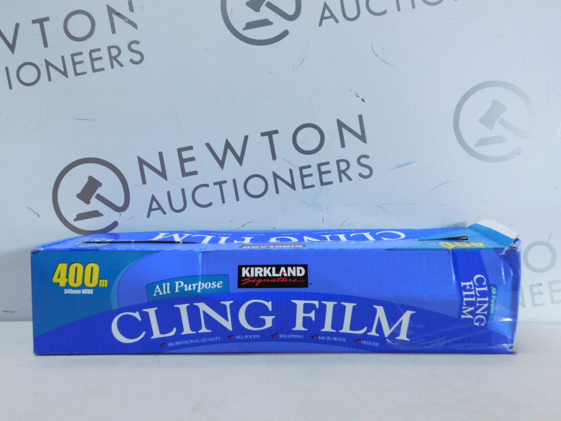 Lotto 286 - 1 BOXED KIRKLAND SIGNATURE ALL PURPOSE CLING FILM 400M RRP £24.99