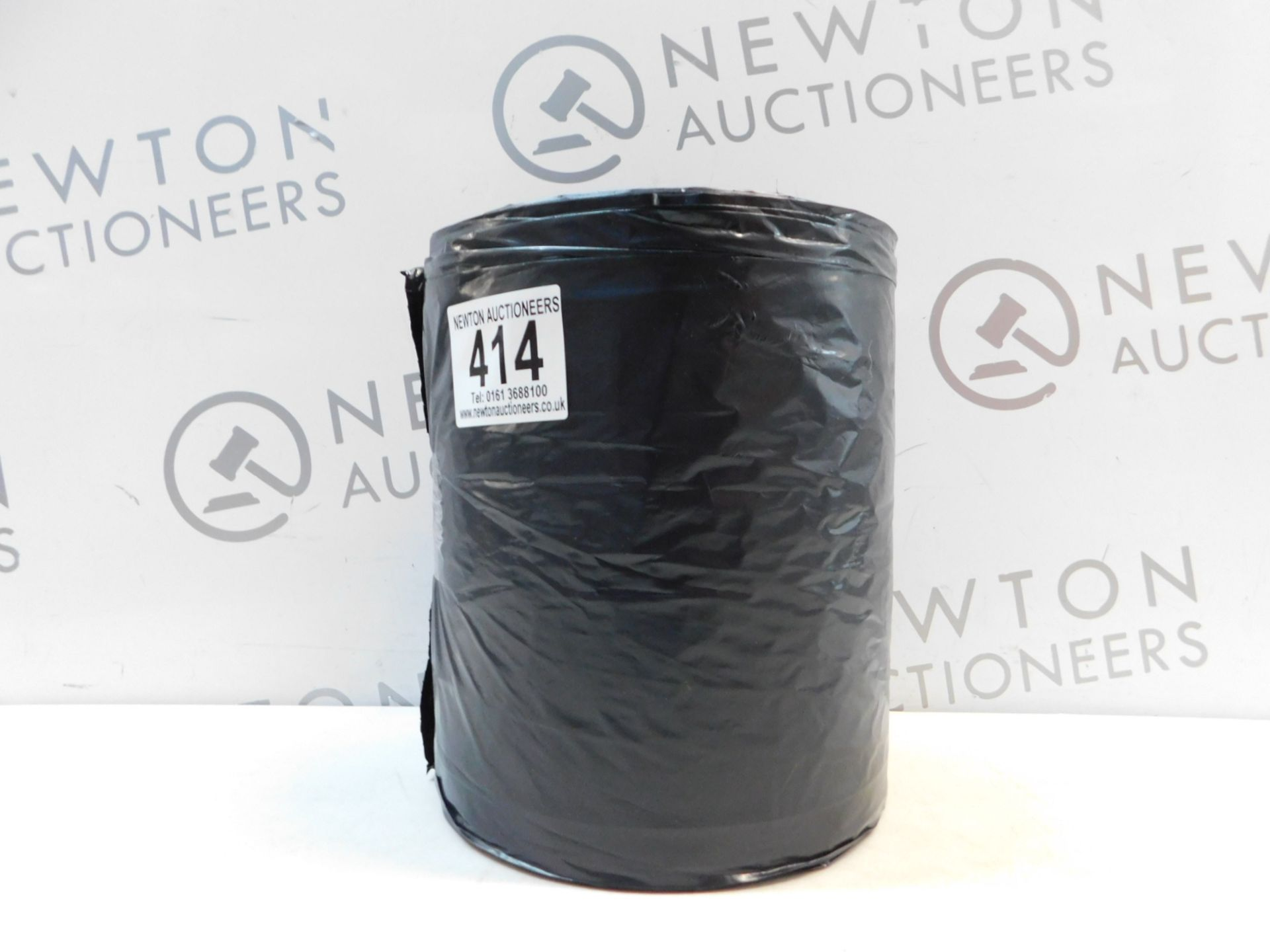 Lot 414 - 1 LARGE ROLL OF BLACK KITCHEN BAGS RRP £12.99