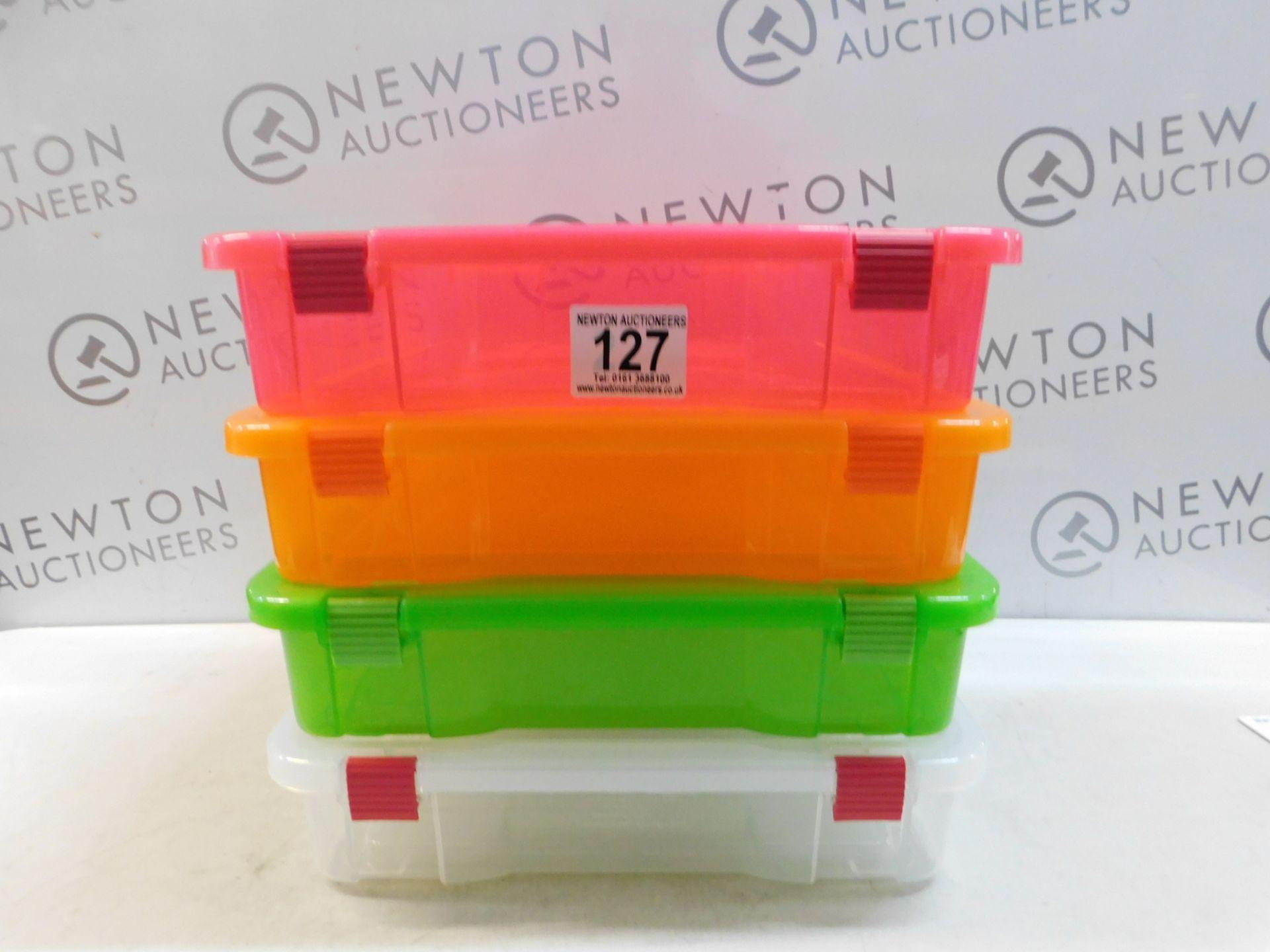 Lot 127 - 1 CREATIVE OPTIONS PROJECT BOX 5 PIECE SET RRP £29.99