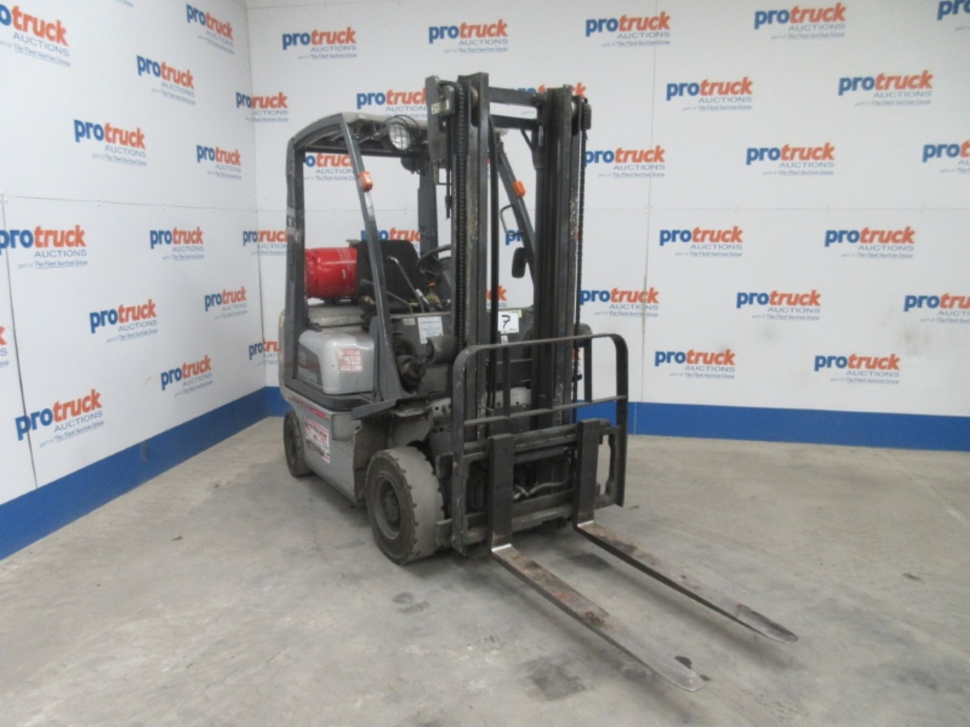 Lot 7 - NISSAN PD01A15PQ Plant LPG / CNG - VIN: PD01E705417 - Year: 2007 - 6,024 Hours - Duplex Forklift,