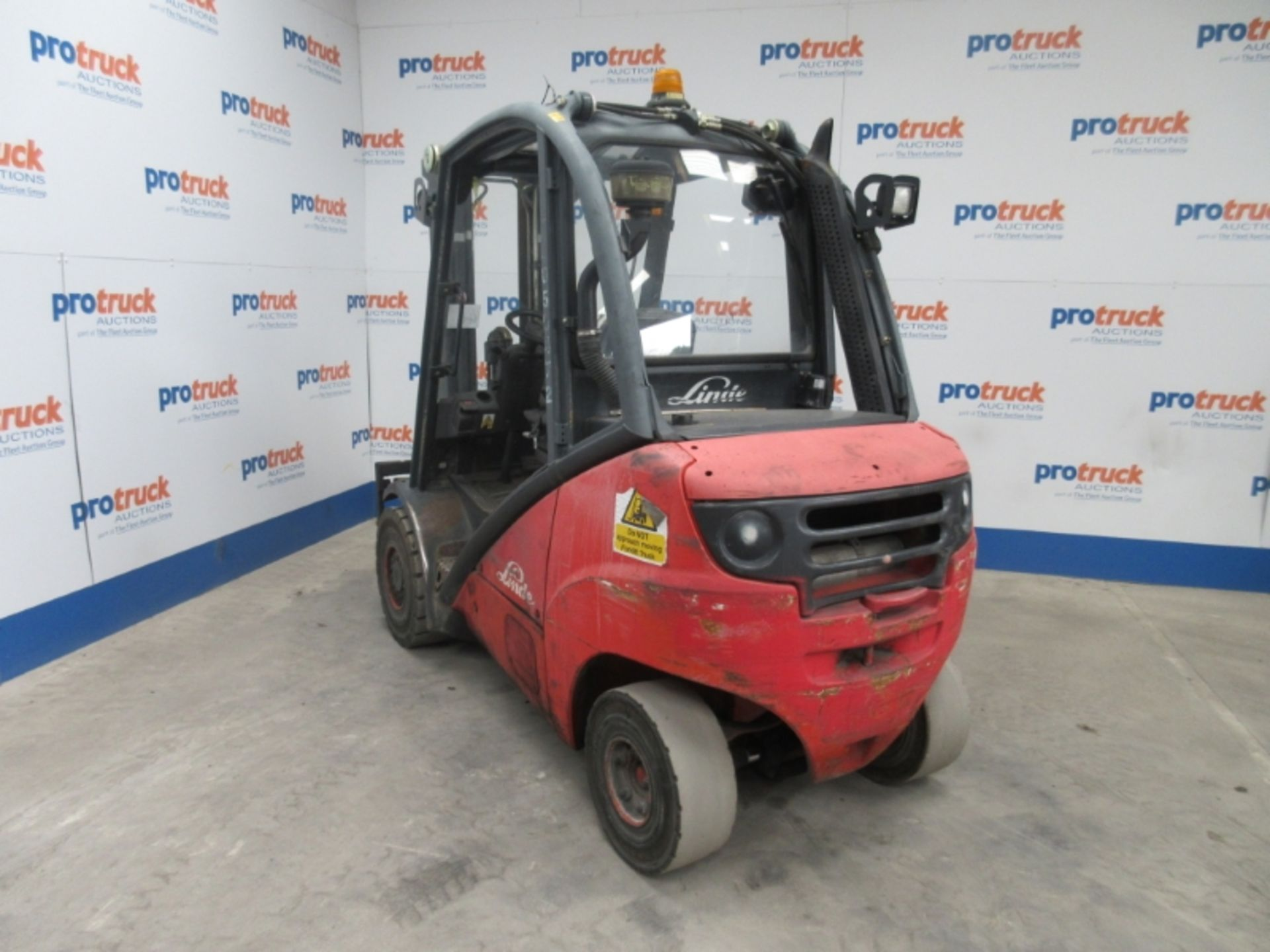 Lot 46 - LINDE H30D Plant Diesel - VIN: H2X393T04912 - Year: 2006 - 7,900 Hours - Duplex Forklift, Sideshift,