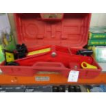 Lot 54 - 2 Tonne Hydraulic Trolley Jack, new in carry case.