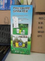 Lot 59 - 5ltr pressure sprayer, new & boxed