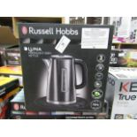 Lot 36 - Russell Hobbs Luna kettle, tested working and boxed