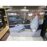 Lot 29 - Tower Ceraglide steam iron, powers on and boxed