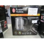 Lot 31 - Russell Hobbs Buckingham kettle, tested working and boxed