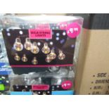 Lot 8 - 6 Packs, LED Bulb String Lights (each string contains 10 bulbs) BOXED. Needs x3 aa Batteries