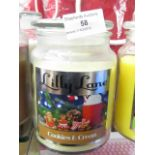 Lot 58 - Lilly Lane Candles COOKIES & CREAM