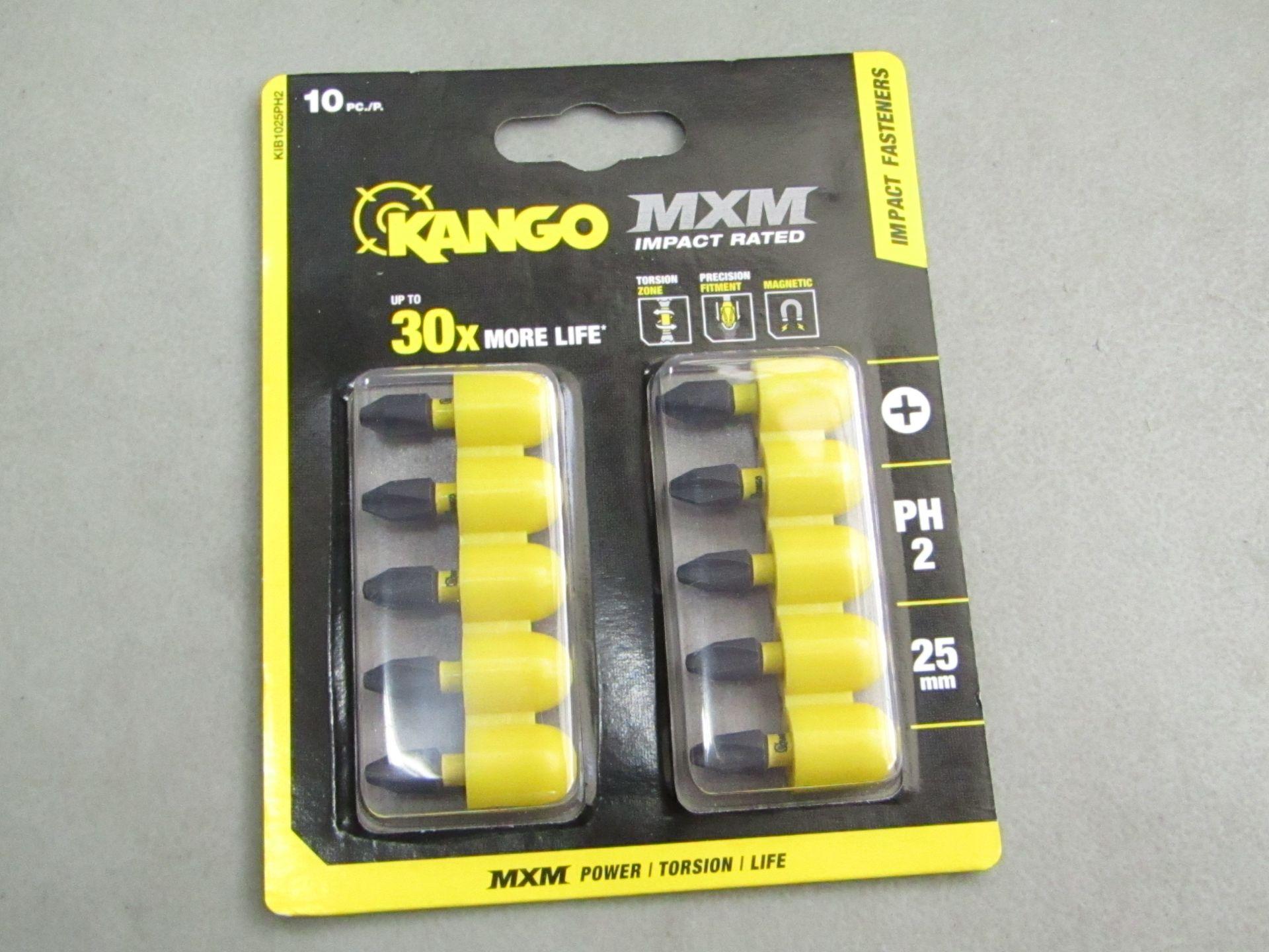 Lot 60 - X1 Kango mxm Impact Fasteners, 25 mm, 10 Pieces