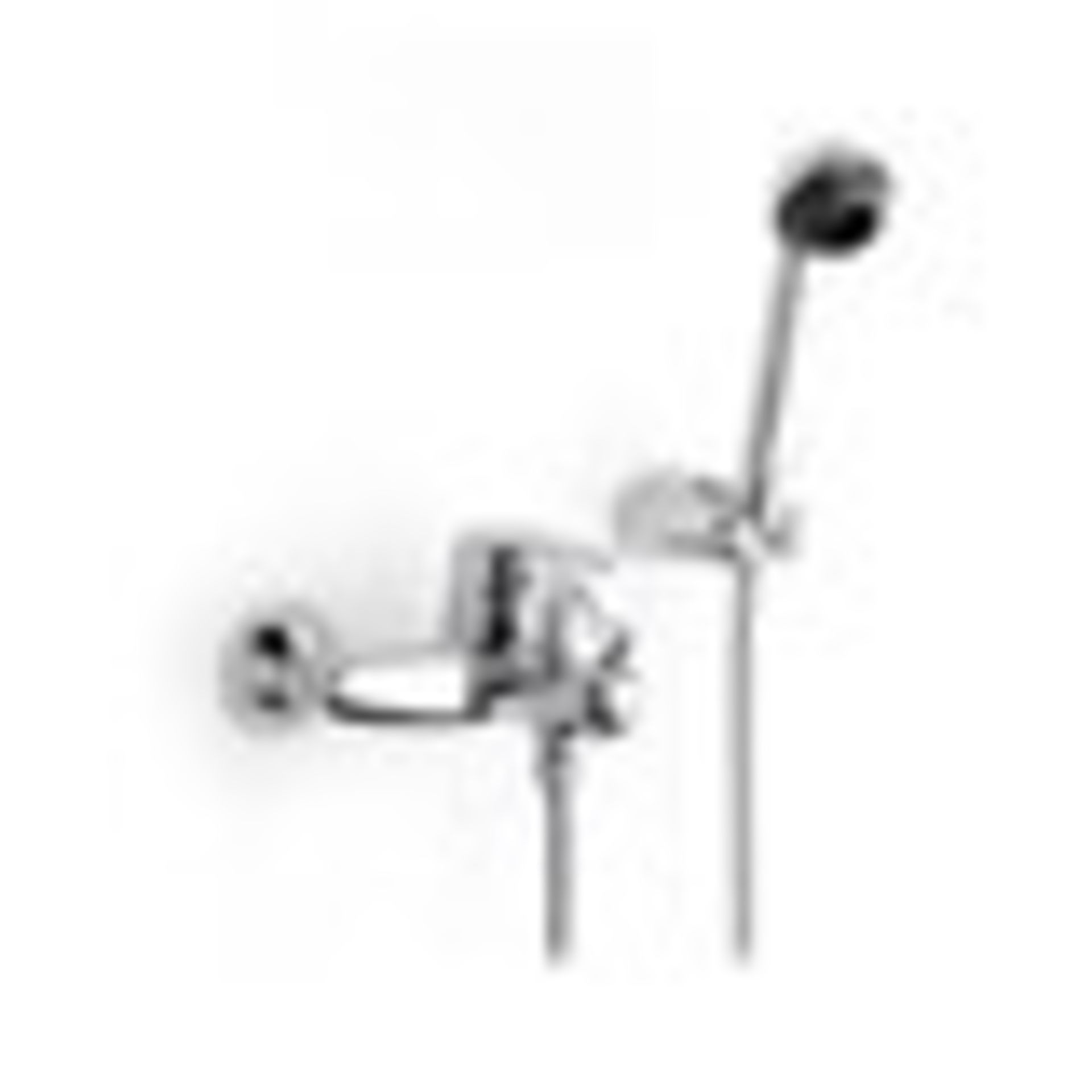 Lot 21 - Roca Victoria-N 5A0125C00 chrome wall mounted bath shower mixer. New & boxed, RRP £177.95 on
