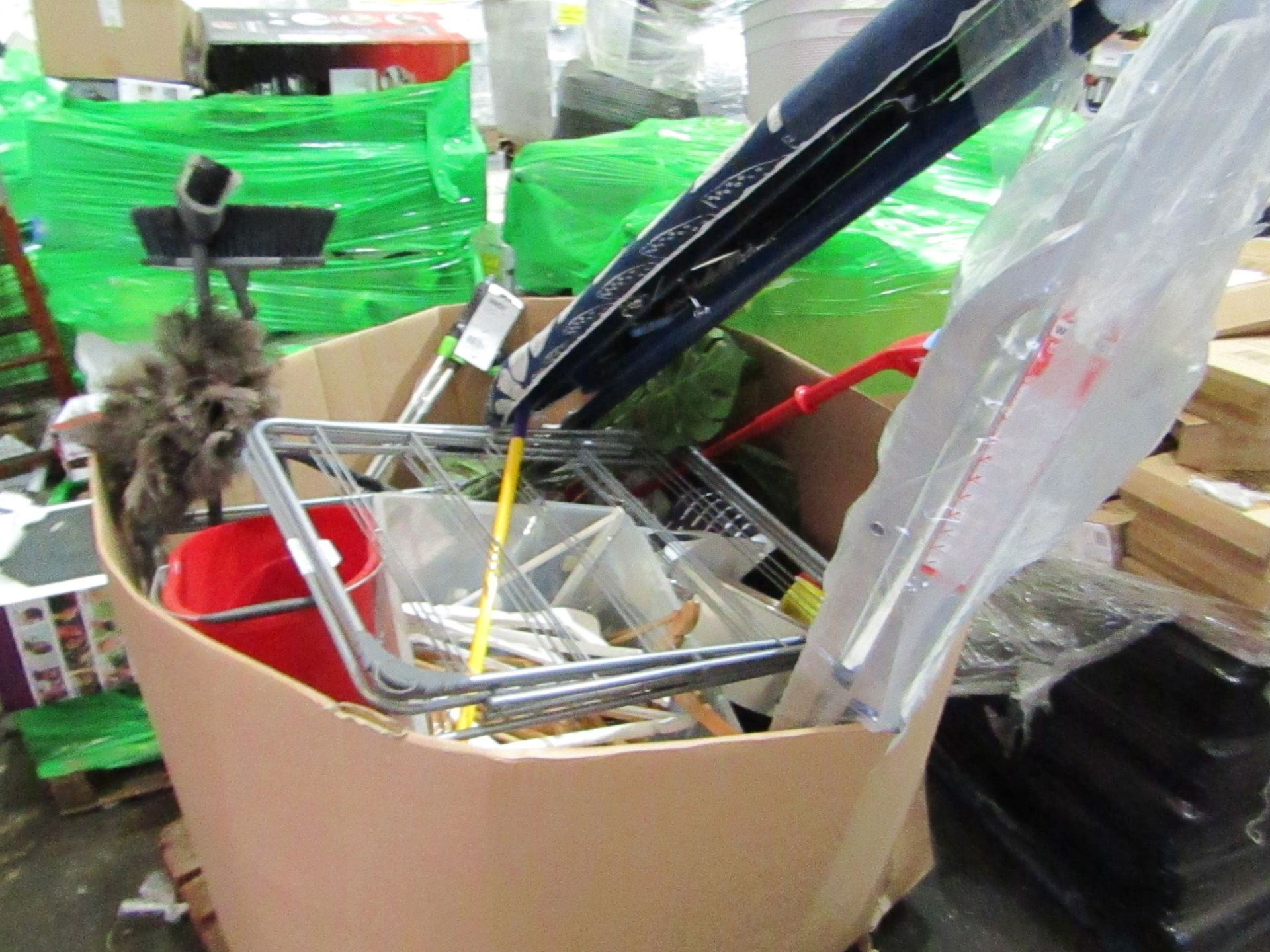 Lot 1 - Pallet of approx 30 Various Electrical and Non Electrical Raw customer returns from a large high