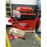 Lot 1 - 7x Items being; 2x Clarke DG6000DVES 5kVA Diesel Generator - Each £958.80 2x Clarke CTJ2000LPB 2
