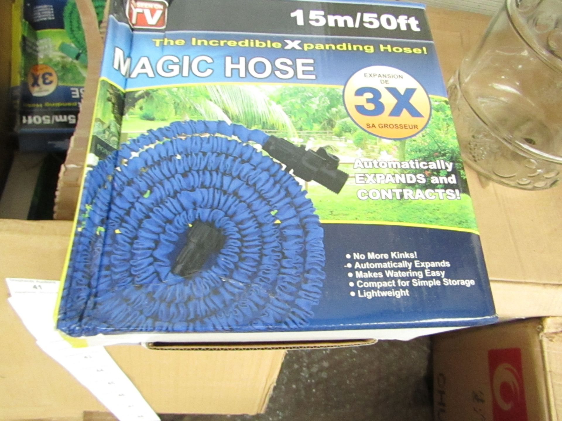 Lot 42 - 50ft Magic Hose, boxed