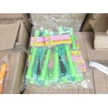 Lot 38 - 10x Leaping ability Plastic handle skipping ropes.