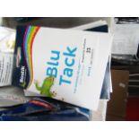 Lot 33 - 13x Packs of Bostick White Blu tack, unused