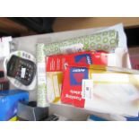 Lot 48 - 5x Items Being 2 rolls of fax paper, 2 packs of Franking labels and a accident report pad