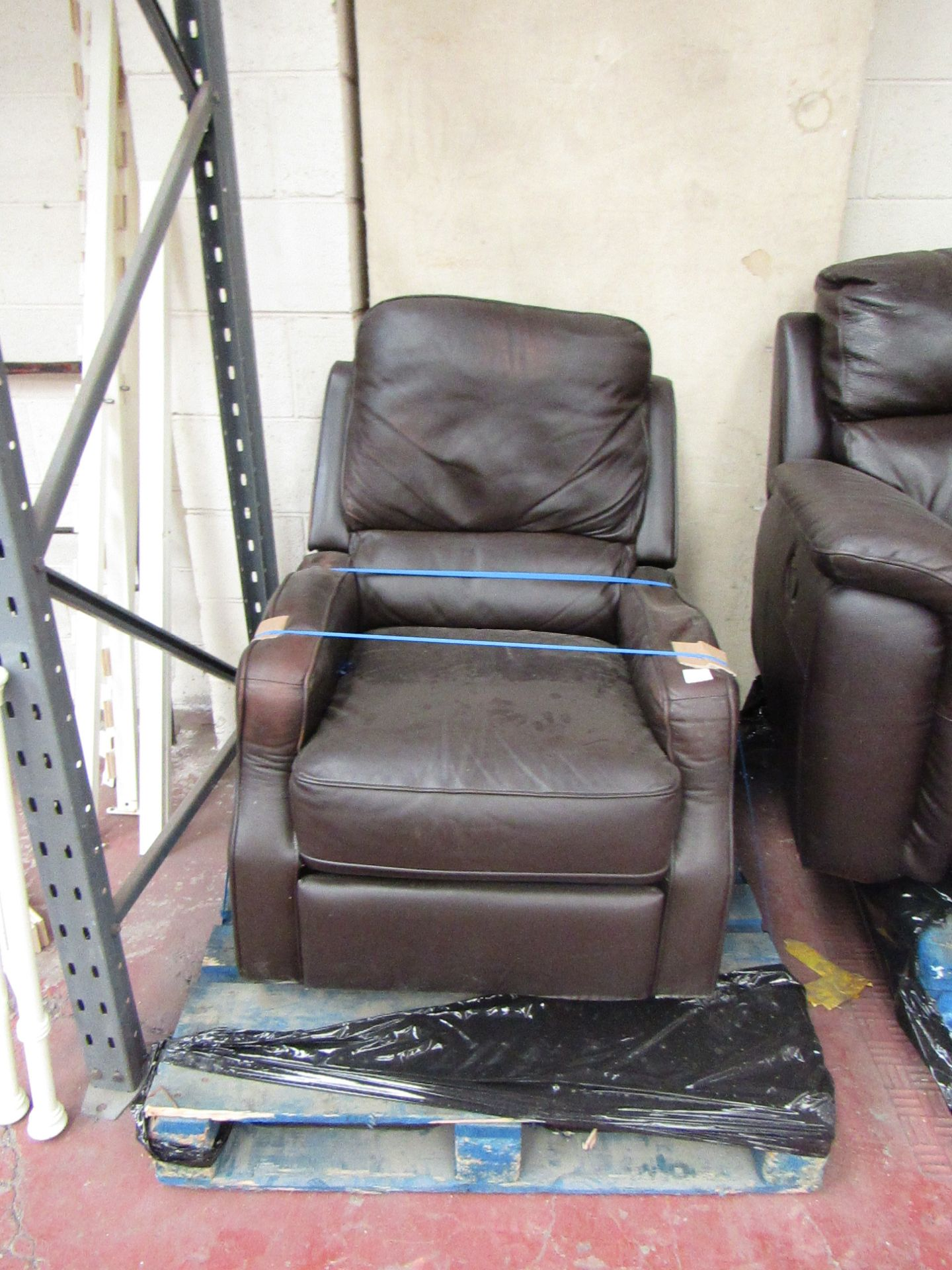 Lot 2 - Caroline Recling Armchair, Mechanism is tested working