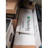 Lot 252 - Maclocks BrandMe VESA Mount Security Floor Stand with Tiltable Display (Black) 140B, grade B and