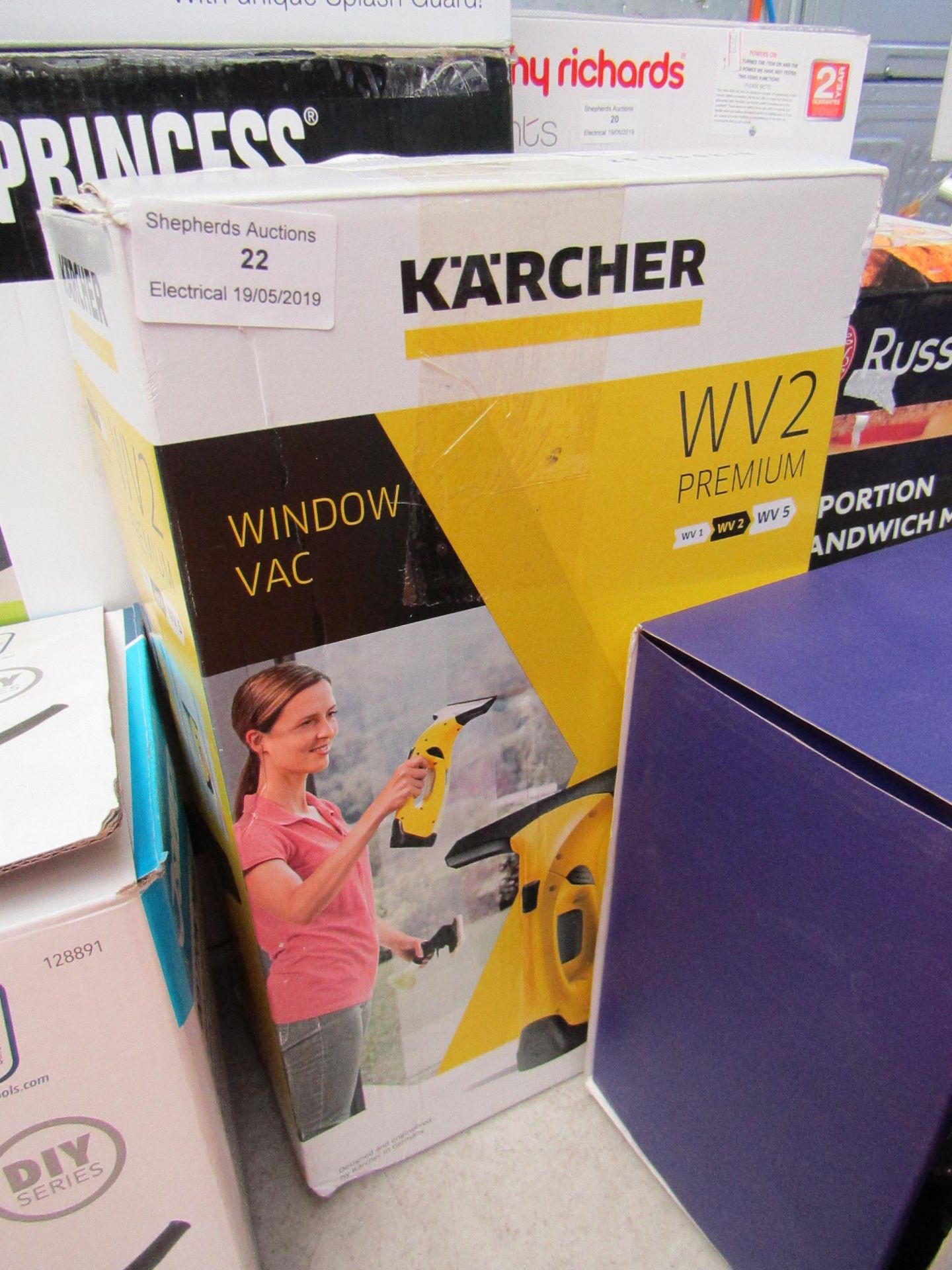 Lot 22 - Karcher WV2 Premium, Tested Working & Boxed